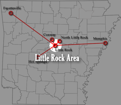 Little Rock Airport Shuttle Intercity Transportation Shuttle